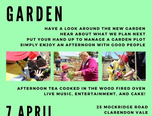 Official Opening of the Grow Community Garden
